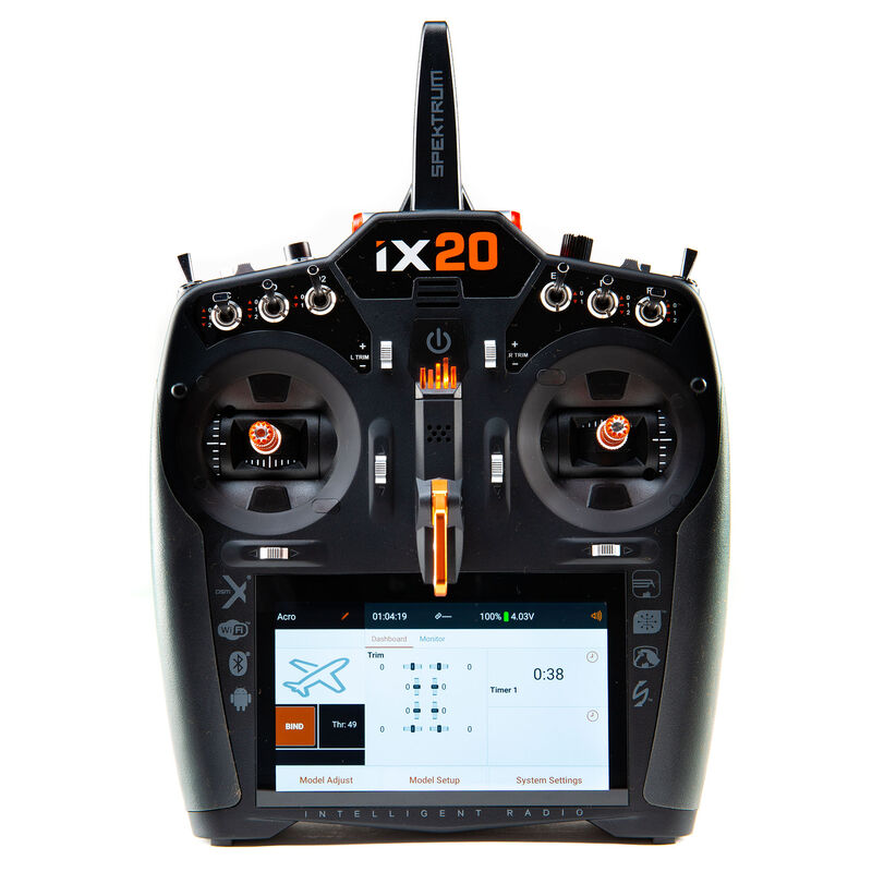 iX20 20-Channel DSMX Transmitter Only