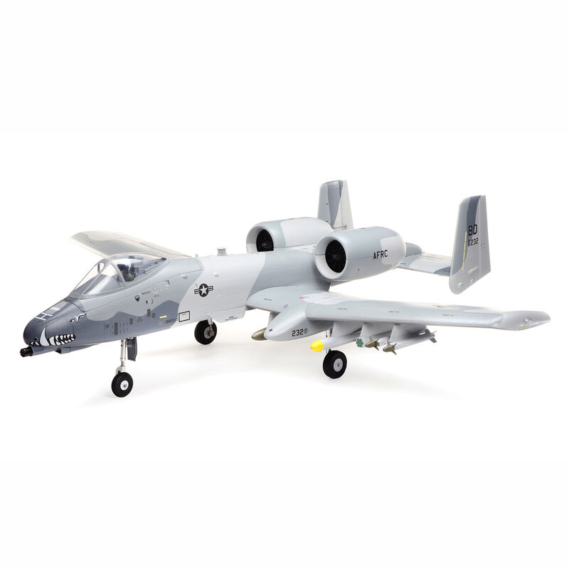 A-10 Thunderbolt II 64mm EDF Jet BNF Basic with AS3X and SAFE Select, 1150mm