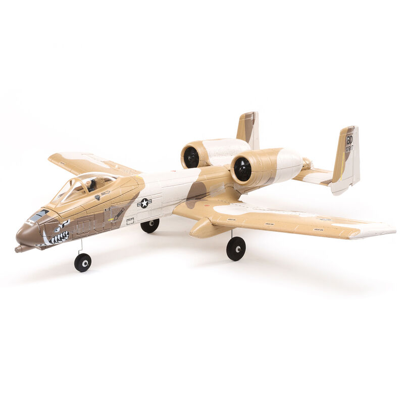 UMX A-10 Thunderbolt II 30mm EDF Jet BNF Basic with AS3X and SAFE Select, 562mm