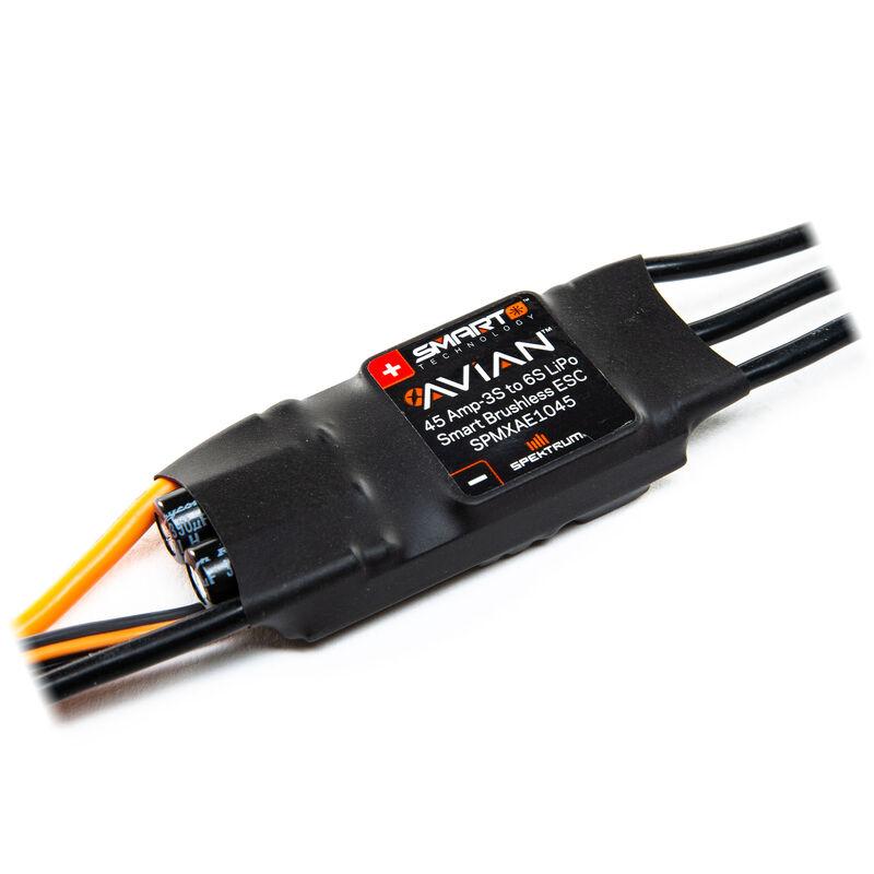 Avian 45 Amp Brushless Smart ESC, 3S-6S