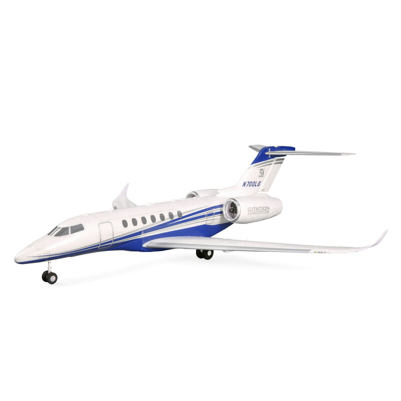 UMX Citation Longitude Twin 30mm EDF Jet BNF Basic with AS3X and SAFE Select, 638mm