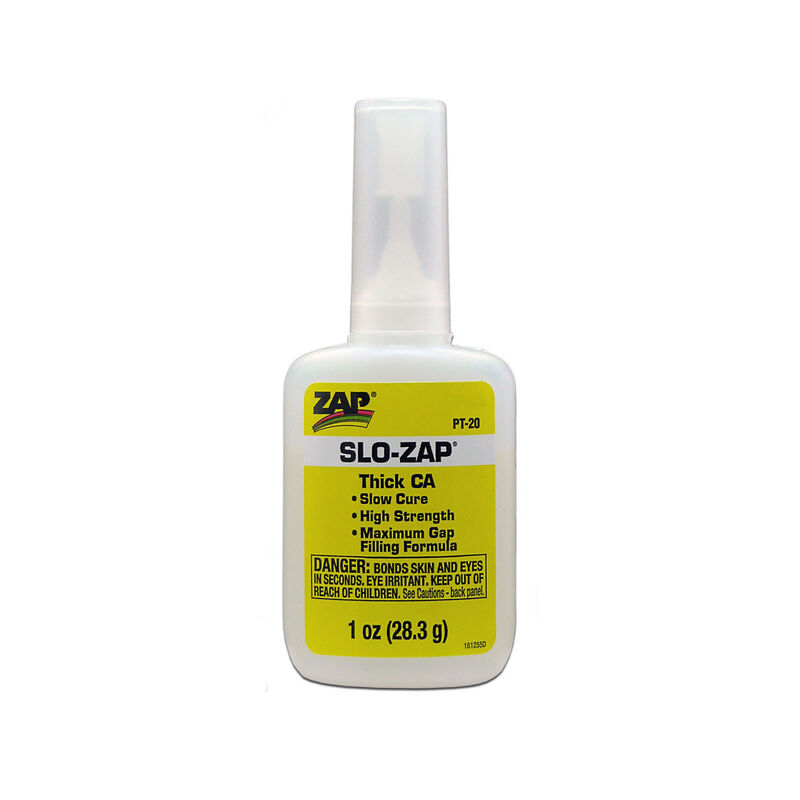 Slo-Zap Thick CA Glue, 1 oz