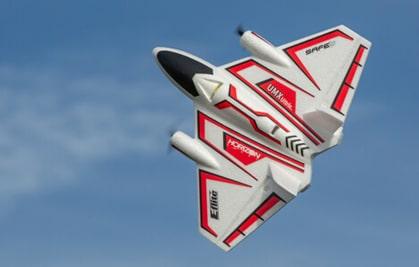 Ultra Micro representative airplane flying