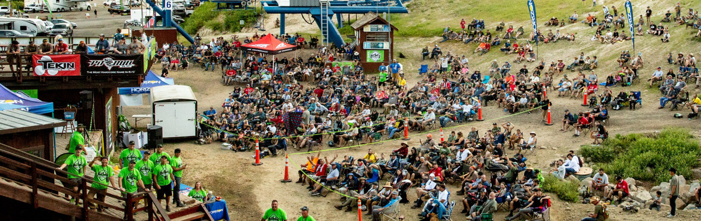 Overview shot of the 2019 Axialfest