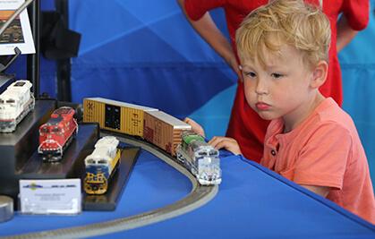Model Trains Display